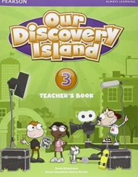 Our Discovery Island 3 Teacher's Book+pin code (книга вчителя) - фото книги