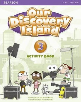 Our Discovery Island 3 Workbook+CD - фото книги