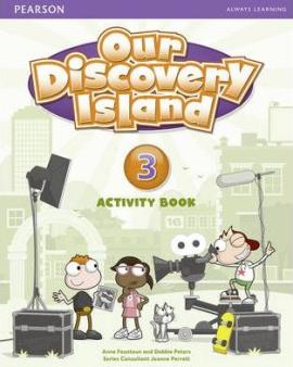 Робочий зошит Our Discovery Island 3 Workbook+CD