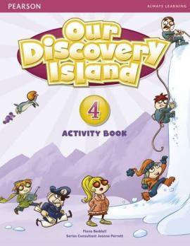 Our Discovery Island 4 Workbook+CD - фото книги