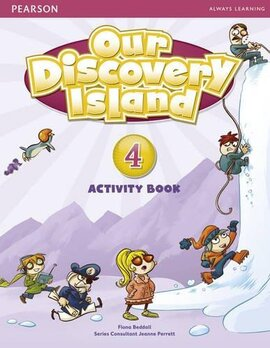 Our Discovery Island 4 Workbook+CD - фото книги