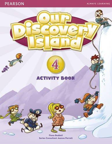 Робочий зошит Our Discovery Island 4 Workbook+CD