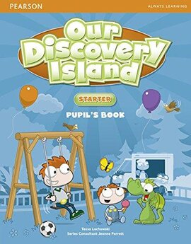 Our Discovery Island Starter Student Book+pin code (підручник) - фото книги