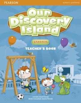Our Discovery Island Starter Teacher's Book+pin code (книга вчителя) - фото книги