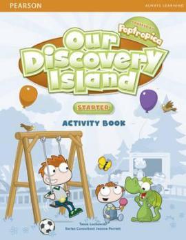 Our Discovery Island Starter Workbook+CD (робочий зошит) - фото книги