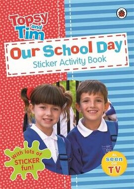 Our School Day: A Ladybird Topsy and Tim Sticker Activity Book - фото книги