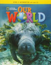 Our World 2: Workbook with Audio CD - фото обкладинки книги