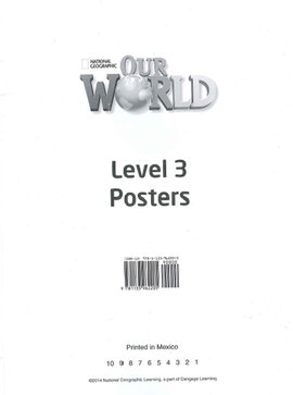 Our World 3: Poster Set - фото книги