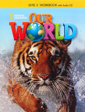 Our World 4: Workbook with Audio CD - фото обкладинки книги