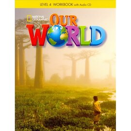 Our World 4: Workbook with Audio CD - фото книги