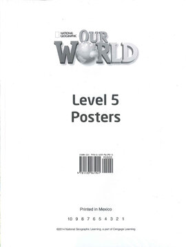 Our World 5: Poster Set - фото книги