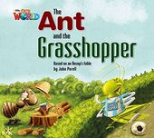 Our World Big Book 2: Ant and the Grasshopper - фото обкладинки книги