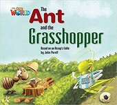 Our World Readers 2: The Ant and the Grasshopper - фото обкладинки книги