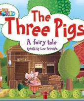 Our World Readers 2: The Three Pigs - фото обкладинки книги