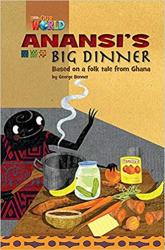Our World Readers 3: Anansi's Big Dinner - фото обкладинки книги