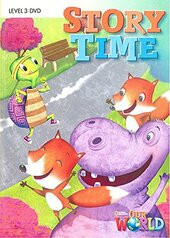 Our World Readers 3: Story Time DVD - фото обкладинки книги