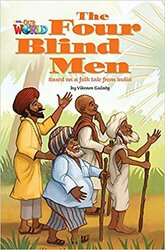 Our World Readers 3: The Four Blind Men - фото обкладинки книги