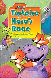Our World Readers 3: Tortoise and Hare's Race - фото обкладинки книги