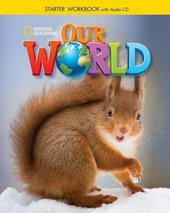 Our World Starter: Workbook with Audio CD (American English) - фото обкладинки книги