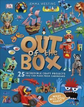 Out of the Box: 25 Incredible Craft Projects You Can Make From Cardboard - фото книги