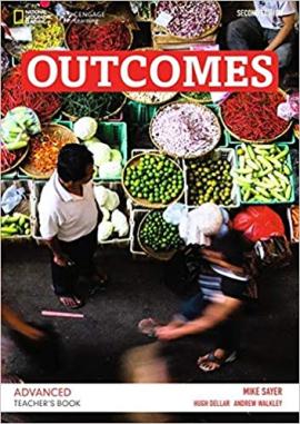 Outcomes 2nd Advanced Teacher's Book+CD - фото книги