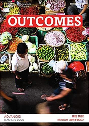 Книга для вчителя Outcomes 2nd Advanced Teacher's Book+CD