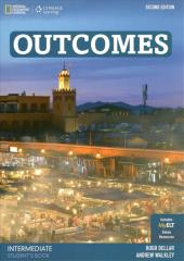 Outcomes Intermediate Second Edition Student's Book with Class DVD - фото обкладинки книги