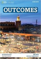 Outcomes Intermediate Teacher's Book and Class Audio CD - фото обкладинки книги