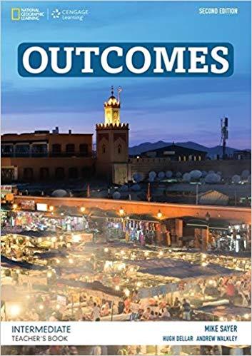 Книга для вчителя Outcomes Intermediate Teacher's Book and Class Audio CD