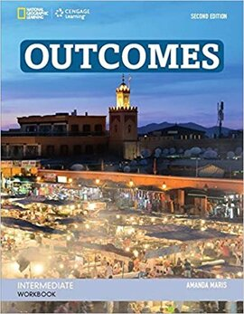 Outcomes Intermediate Workbook with CD - фото книги