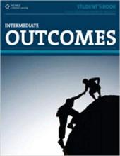 Outcomes Intermediate Workbook (with key) + CD - фото обкладинки книги