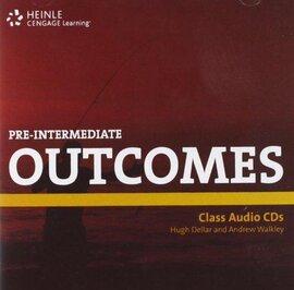 Outcomes Pre-Intermediate Class Audio CDs - фото книги