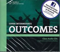 Підручник Outcomes Upper Intermediate Class Audio CDs