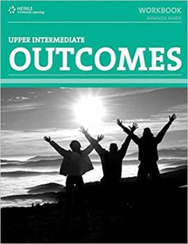 Outcomes Upper Intermediate Workbook (with key) + CD - фото книги