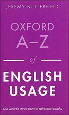 Книга Oxford A-Z of English Usage