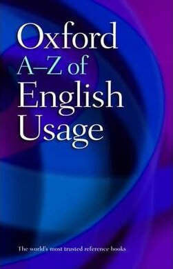 Oxford A-Z of English Usage - фото книги