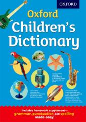 Oxford Children's Dictionary - фото обкладинки книги