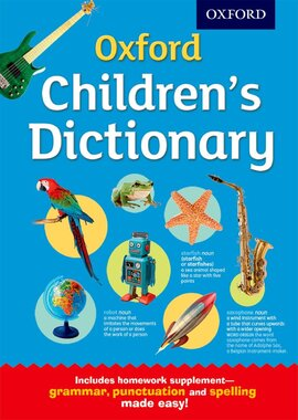 Oxford Children's Dictionary - фото книги