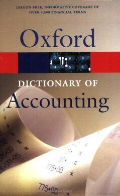 Oxford Dictionary of Accounting - фото книги