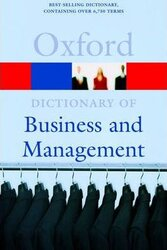 Oxford Dictionary of Business and Management 4th ed. - фото обкладинки книги