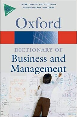 Oxford Dictionary of Business and Management 5th ed. - фото книги