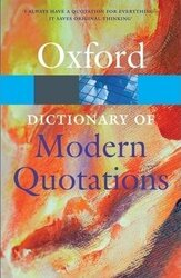 Oxford Dictionary of Modern Quotations - фото обкладинки книги