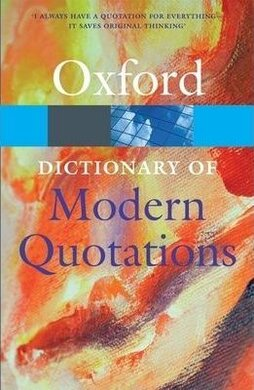 Oxford Dictionary of Modern Quotations - фото книги