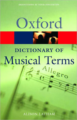 Книга Oxford Dictionary of Musical Terms