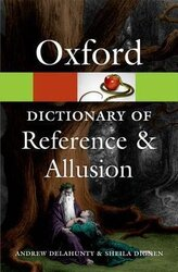 Oxford Dictionary of Reference and Allusion - фото обкладинки книги