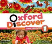 Oxford Discover 1. Class Audio CDs (набір із 3 аудіодисків) - фото обкладинки книги