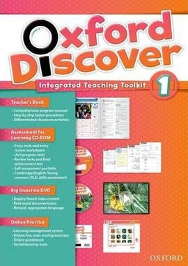 Oxford Discover 1. Integrated Teaching Toolkit (Teacher's Book+DVD+Online Practice) - фото книги