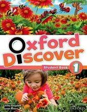 Oxford Discover 1. Student's Book - фото обкладинки книги