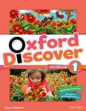Oxford Discover 1. Workbook - фото обкладинки книги