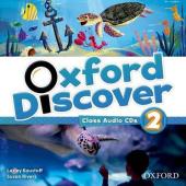 Oxford Discover 2. Class Audio CDs (набір із 3 аудіодисків) - фото обкладинки книги